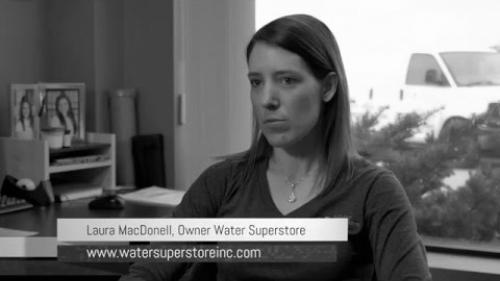 LAC Client Testimonial - Laura MacDonell Owner Water Superstore